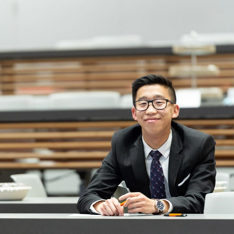 Management student