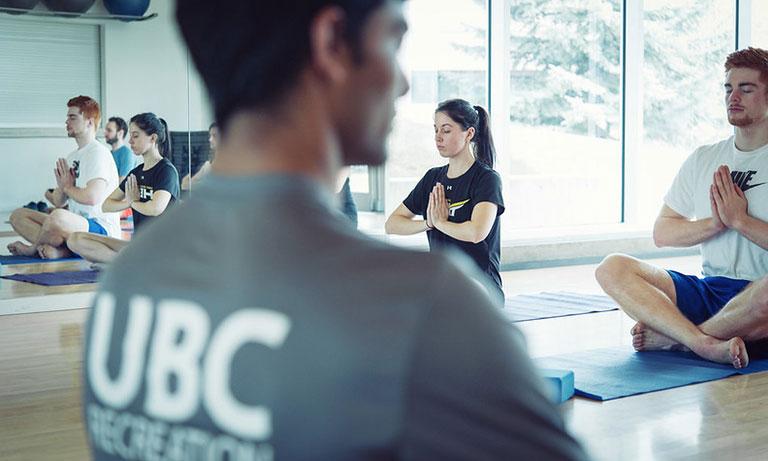 Yoga at UBC Rec